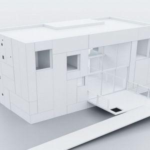 Model domu. Fot. 81.WAW.PL