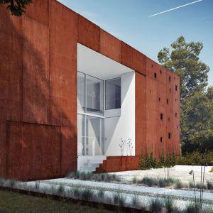 Dom-rama to nie tylko przykład oryginalnej i stylowej architektury, ale także zmieniających się trendów w budownictwie. Fot. 81.WAW.PL