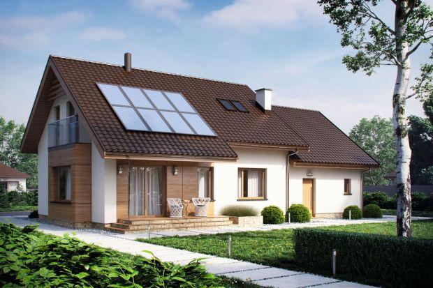 D186A to dom mieszkalny jednorodzinny z poddaszem użytkowym. Idealny dla 4-5-osobowej rodziny.