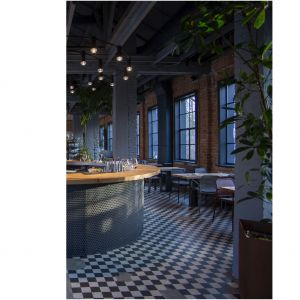 Restauracja Forty Projekt: Studio Rygalik. Fot. Piotr Waniorek
