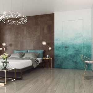 Panele dekoracyjne Swiss Krono Walldesign to pomysł na szybkie wykończenie ściany. Fot. Swiss Krono