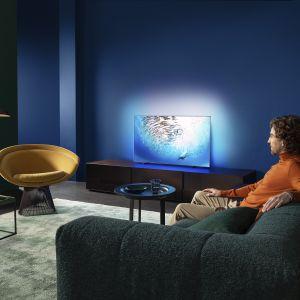 Telewizory ze wsparciem sztucznej inteligencji Philips OLED 805. Fot. Philips