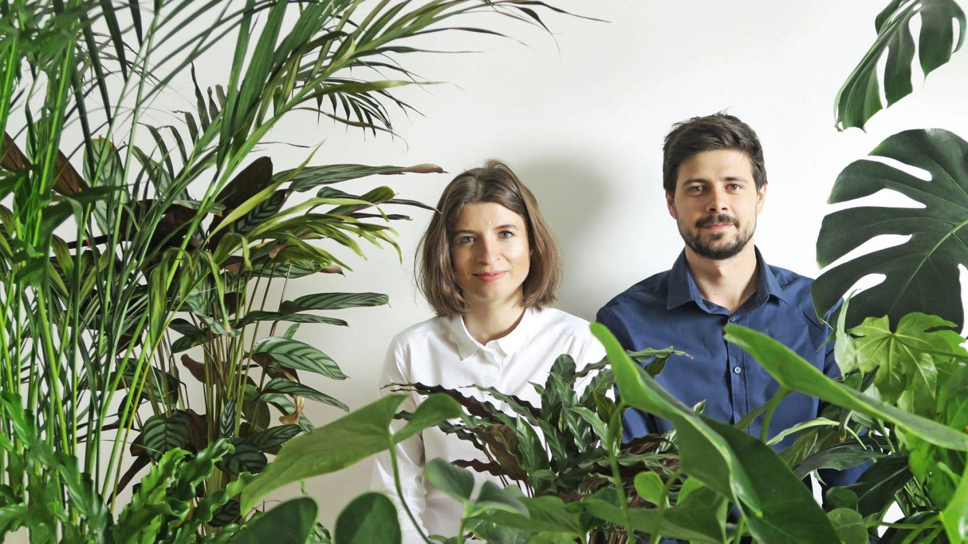 Szymon i Izabela Serej, twórcy marki Bujnie. Fot. Bujnie