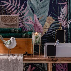 Kolekcja Gold Orchid to ukłon w stronę natury, która subtelnie łączy się z elegancją. Fot. Home&You