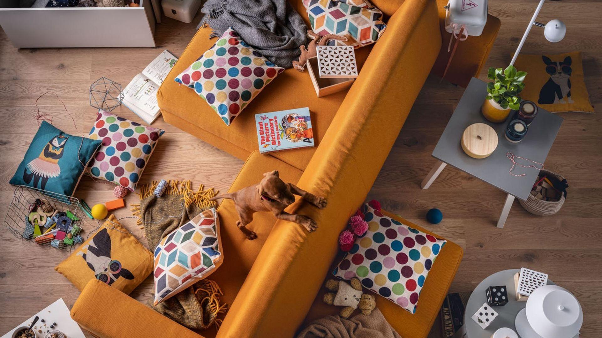 Sofa Slide od Vox może w mgnieniu oka zmienić swoją formę i przeznaczenie. Fot. Vox