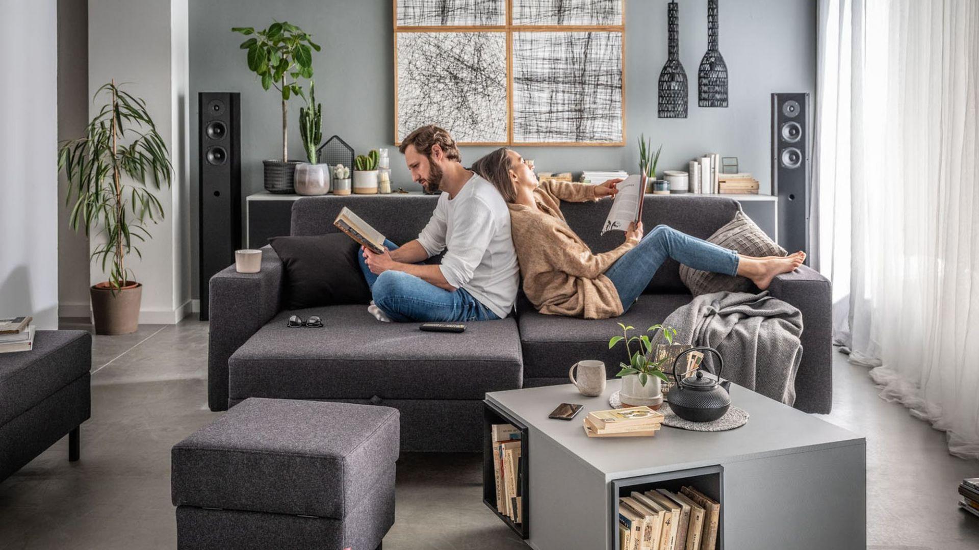 Aranżacja salonu: nowy model nowoczesnej sofy