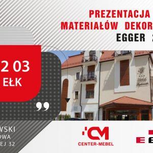 Na spotkania z dobrym wzornictwem i fachowymi poradami zapraszamy 3 marca 2020 r. do Ełku (Hotel Rydzewski, Sala Bursztynowa, ul. Armii Krajowej 32, od godz. 10.00)