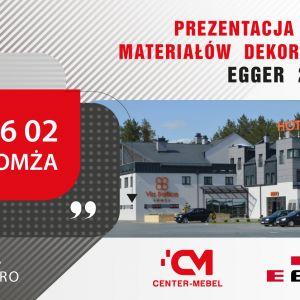 Na spotkania z dobrym wzornictwem i fachowymi poradami zapraszamy 6 lutego 2020 r. do Łomży (Via Baltica Hotel&Bistro, ul. Grzymały-Szczepankowskiego 1A, od godz. 10.00)