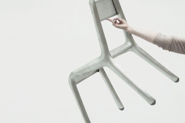 4DD: Oskar Zięta o najlżejszym krześle na świecie