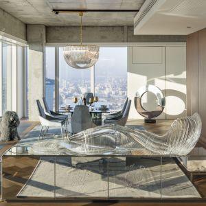 Złota 44, apartament Oxygen. Projekt: Małgorzata Muc i Joanna Scott, Muc & Scott Interiors. Fot. materiały prasowe Złota 44