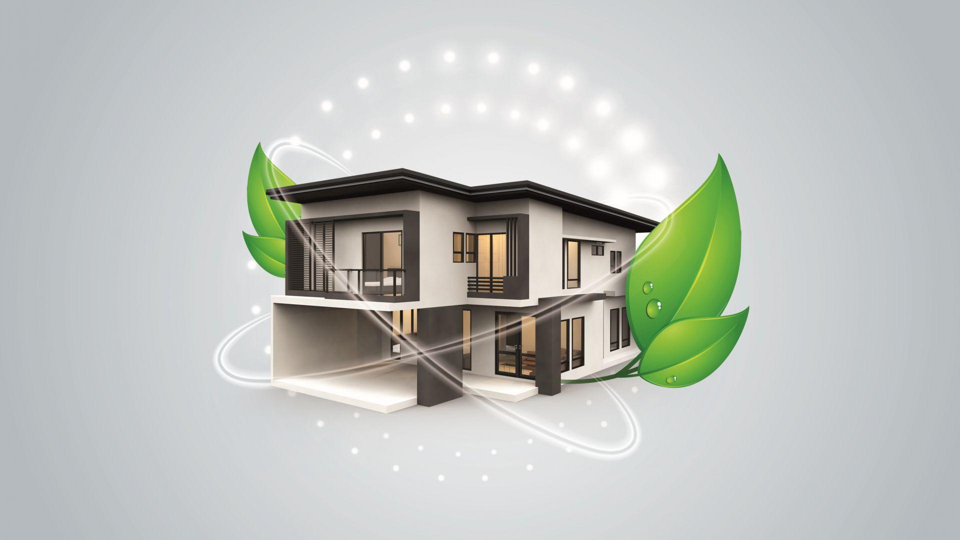 Działaniem ograniczającym emisję smogu, które pozwoli przynieść dostrzegalne efekty, jest kompleksowe ocieplenie energochłonnych budynków. Fot. Knauf Therm