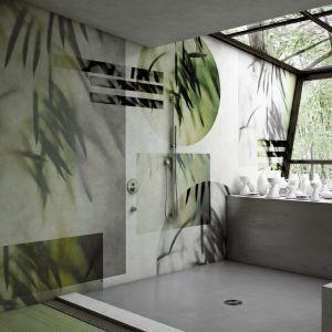 Nowoczesne tapety z wzorem roślinnym: kolekcja Glamora Ghost. Fot. Dekorian Home