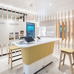 Alior Bank, projekt Robert Majkut Design