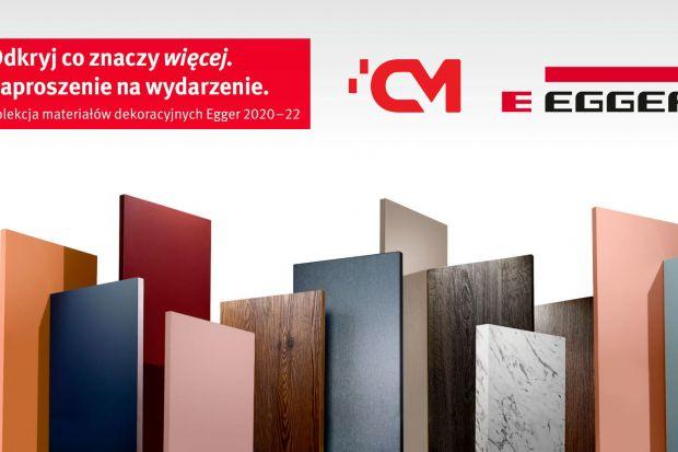 Jesteś architektem? Przyjdź na premierę nowej kolekcji materiałów dekoracyjnych Egger