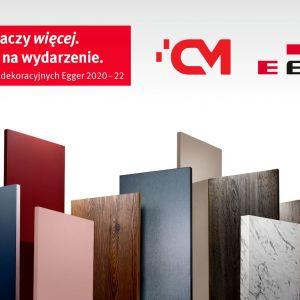 Jesteś architektem? Przyjdź na premierę nowej kolekcji materiałów dekoracyjnych Egger organizowane przez firmę Center Mebel