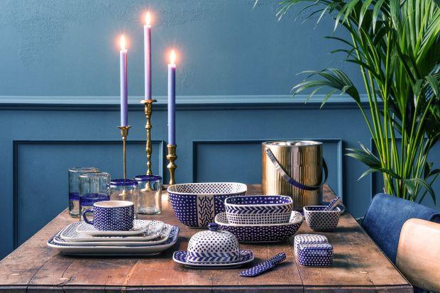 Polska ceramika - ponadczasowy kolor kobaltu