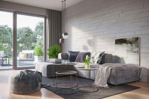 Nowoczesne wnętrza - beton wkracza na salony