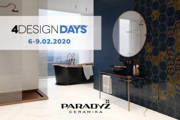 W dniach 6-9 lutego 2020 roku w Katowicach odbędzie się V edycja 4 Design Days. Jednym z partnerów wydarzenia została Ceramika Paradyż, której eksperci wezmą udział w sesjach dyskusyjnych oraz tematycznej prezentacji.