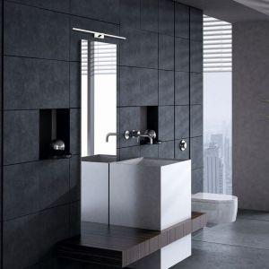 Przy wyborze lampy do łazienki warto zwrócić uwagę zarówno na materiał, z którego jest wykonana, jak i bezpieczeństwo stosowania jej w warunkach podwyższonej wilgotności. Fot. Nowodvorski Lighting