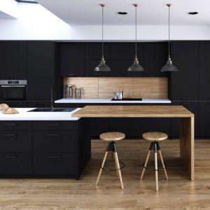 Kuchnia Black Matt. Fot. Classen