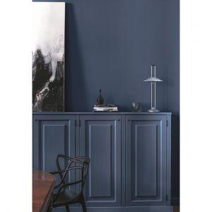 Błękit lubi minimalistyczne połączenia. Fot. Tikkurila