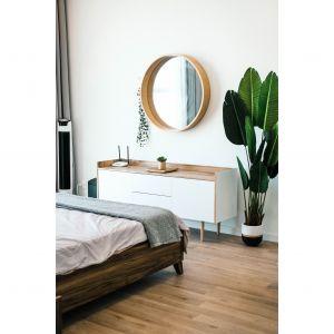 """Okrągłe kształty wciąż będą najchętniej wybieranymi – zarówno w przypadku mebli, jak i dekoracji. Fot. WPBM """"Mój Dom"""""""