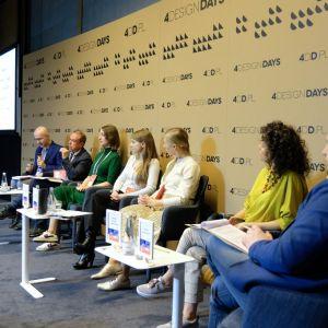 """""""Projektowanie w erze srebrnej gospodarki"""" - dyskusja w trakcie 4 Design Days 2020."""