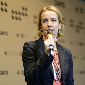 Danuta Barańska, 4 Design Days: onstage. Biura i coworking. Fot. PTWP