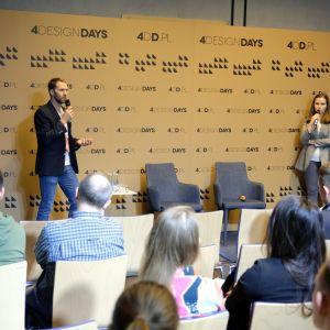Bogusz parzyszek, Dominika Zielińska, 4 Design Days: onstage. Biura i coworking. Fot. PTWP