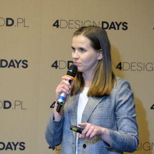Dominika Zielińska, 4 Design Days: onstage. Biura i coworking. Fot. PTWP