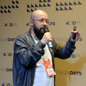 Piotr Kalinowski, 4 Design Days: onstage. Biura i coworking. Fot. PTWP