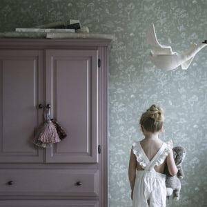 Tapeta Hollie z kolekcji Kubel Kids. Fot. Sandberg/ tapetujemy.pl