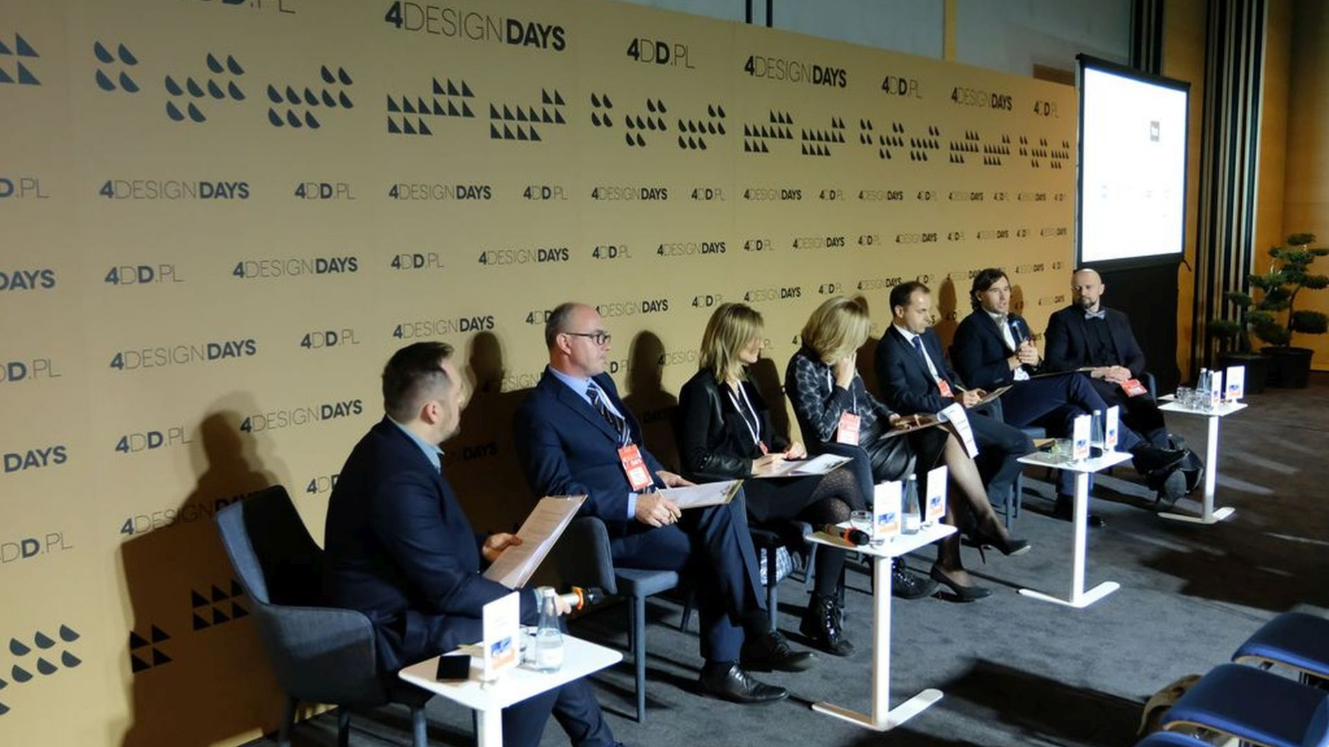 Paneliści. Fot. PTWP