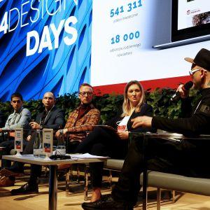"Panel dyskusyjny ""Materiały"", 4 Design Days. Fot. PTWP"