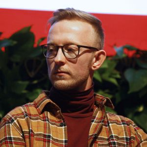 Mateusz Mioduszewski, projektant, Akademia Sztuk Pięknych w Warszawie. Fot. PTWP