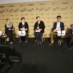 """4DD: Panel dyskusyjny """"Sztuka w mieście"""". Fot. PTWP"""