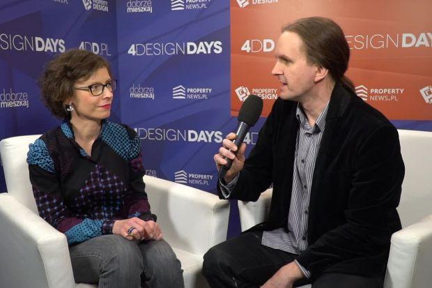 O roli sztuki w przestrzeni miejskiej mówi Wioletta Kazimierska-Jerzyk, estetyczka i historyczka sztuki, prelegentka 4 Design Days 2020.
