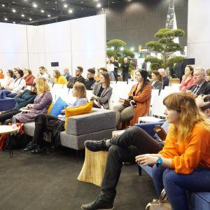 Prezentacja wnętrzu publikowanych na łamach magazynów Dobrze Mieszkaj oraz Świat łazienek i kuchni podczas dani otwartych na 4 Design Days