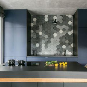 Wnętrze w nowoczesnym stylu: kuchnia. Projekt: Joanna Zabłocka. Fot. Zawrotniak-Kucharska
