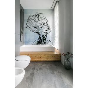 Wnętrze w nowoczesnym stylu: łazienka z wanną. Projekt: Joanna Zabłocka. Fot. Zawrotniak-Kucharska
