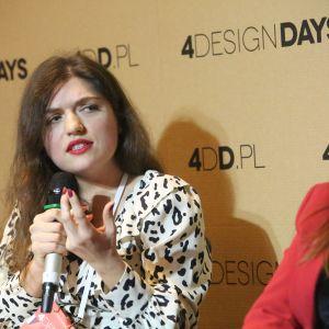 Katarzyna Skoczylas. 4 Design Days. Sesja Technologie. Fot. PTWP