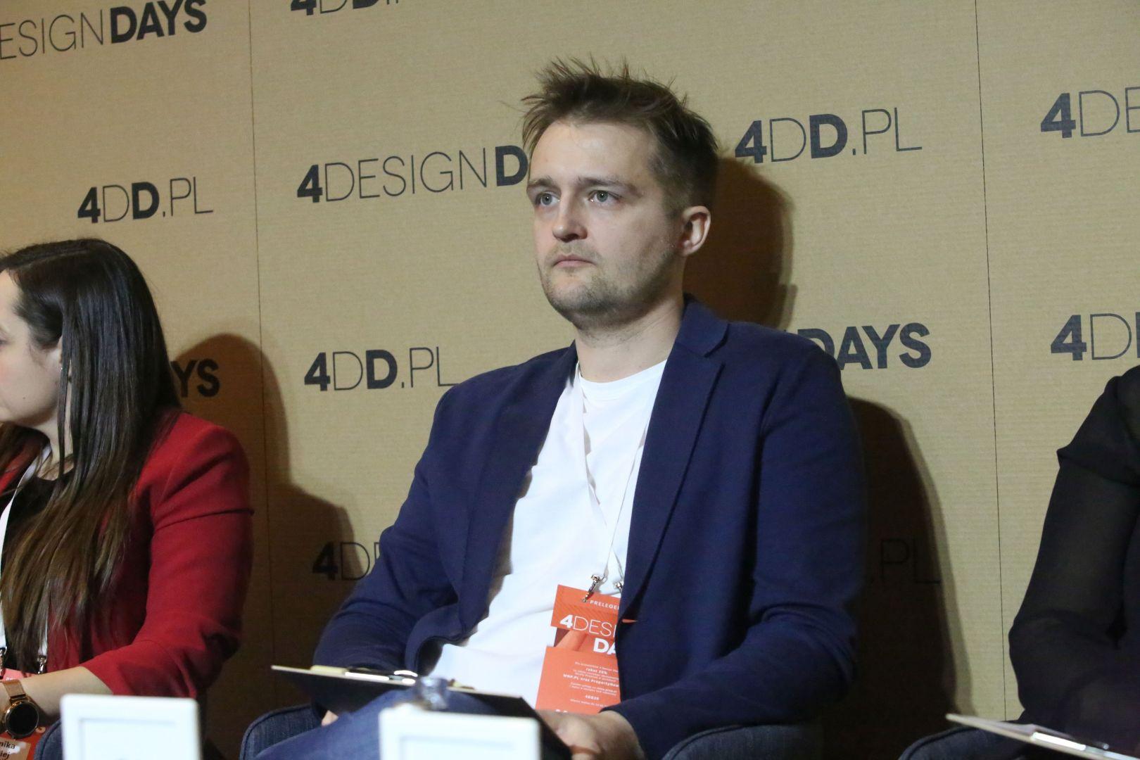 Piotr Juchnowicz. 4 Design Days. Sesja Technologie. Fot. PTWP