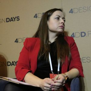 Monika Rabiej. 4 Design Days. Sesja Technologie. Fot. PTWP