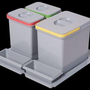 Ekologiczne segregatory do szuflad dostępne w ofercie firmy Amix. Fot. Amix