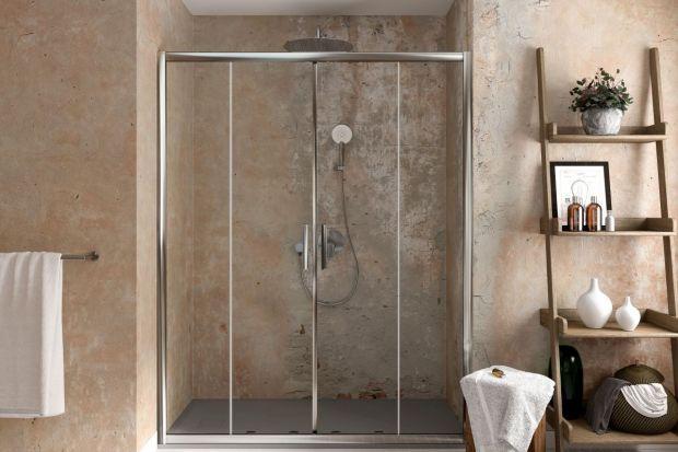 Nowe kabiny prysznicowe oferują wygodę i styl. Codzienny komfort korzystania z kąpieli gwarantują m.in. wysokiej jakości rolki, które zapewniają ciche i płynne działanie drzwi przesuwnych.