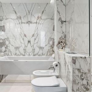 Ściany w łazience: propozycja numer 2. Projekt: Katarzyna Kraszewska. Fot. Tom Kurek