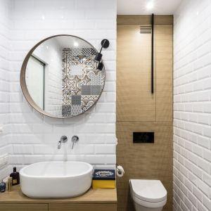 Ściany w łazience: propozycja numer 8. Projekt: Magdalena Bielicka, Maria Zrzelska-Pawlak. Fot. Foto&Mohito