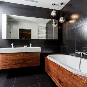 Ściany w łazience: propozycja numer 10. Projekt i zdjęcia: Joanna Dembowska, Joanna Kijak-Rajca
