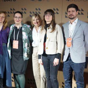 """Eksperci z panelu """"Rośliny we wnętrzu"""". Fot. Katarzyna Masłowska"""