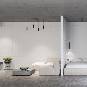 Oświetlenie do sypialni. Fot. Aqform
